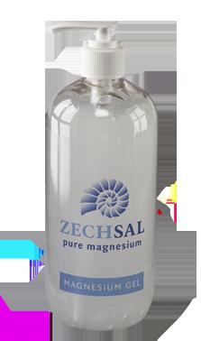 Zechsal magnesium gel, 500 ml. Zuivert de huid!