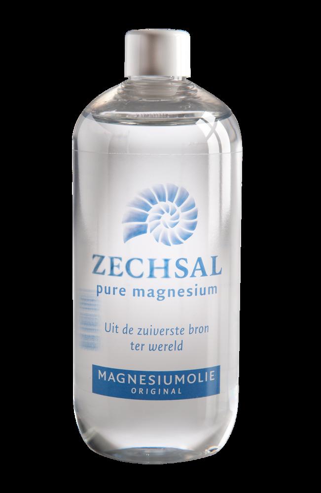 Zechsal magnesiumolie, 500 ml. Navulfles voor de 100 ml flacon.